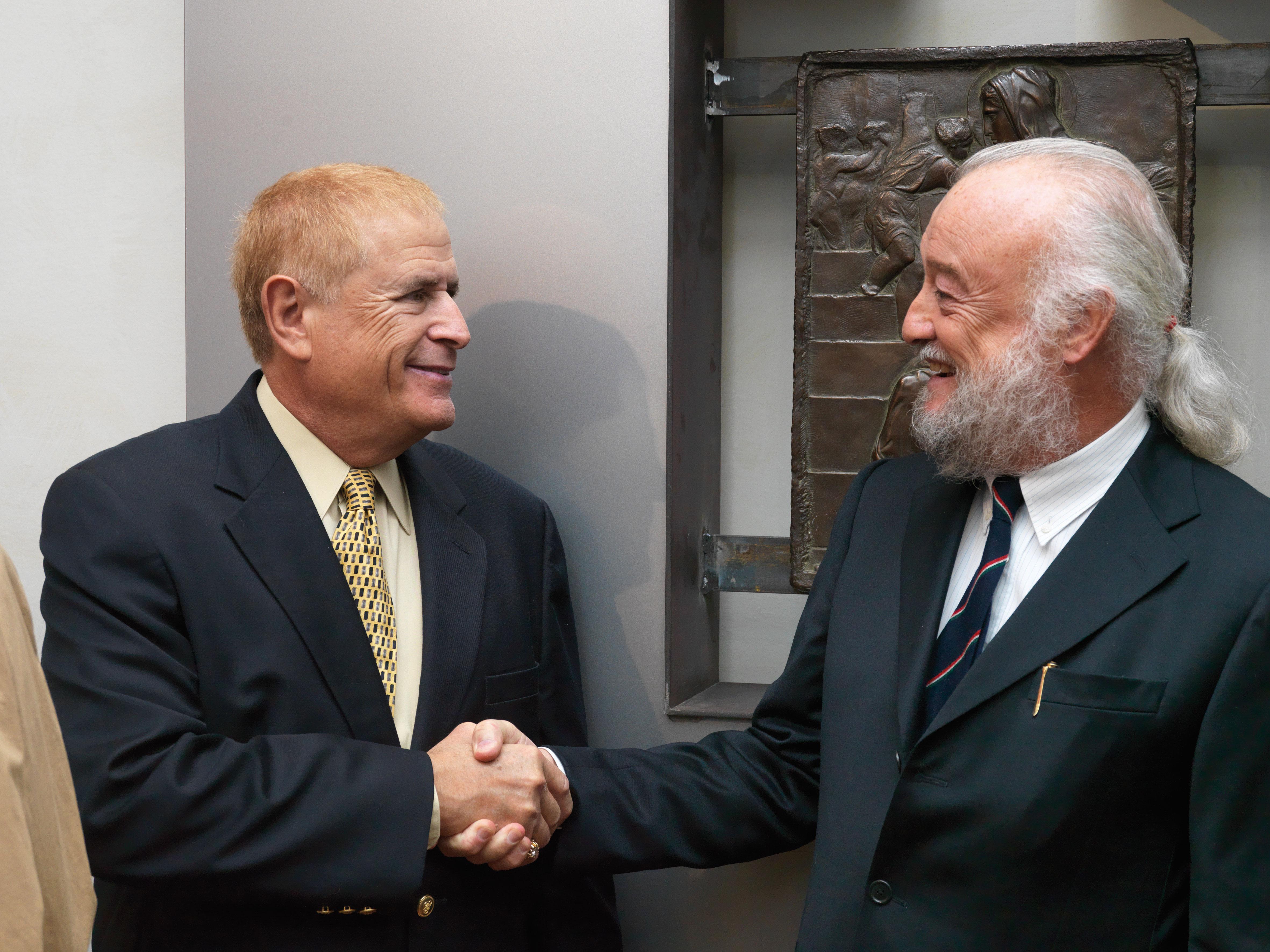 Ronald Welborn e Ferdinando Marinelli Jr.