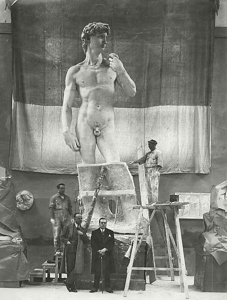 Calco del David di Michelangelo originale eseguito dalla Fonderia Artistica Ferdinando Marinelli (FAFM) di Firenze