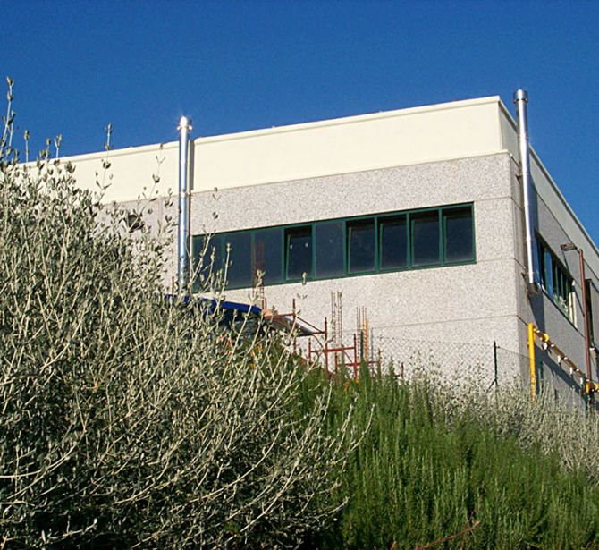 The new headquarter of the Ferdinando Marinelli Artistic Foundry of Florence (FAFM) in Barberino V. Elsa