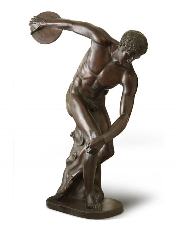 myron diskobolus discus thrower Discobolos was created by a greek sculptor named myron, of eleutherai the discobolos is a sculpture of a discus thrower, seen as a male athlete, shown at the highest point of tension in his swing, it can be notice however, that the statue has no expression on his face.