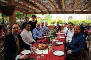 Pranzo con la delegazione