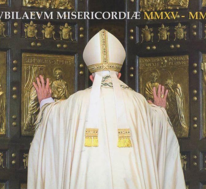 porta santa, libretto dell'ufficio filatelico vaticano