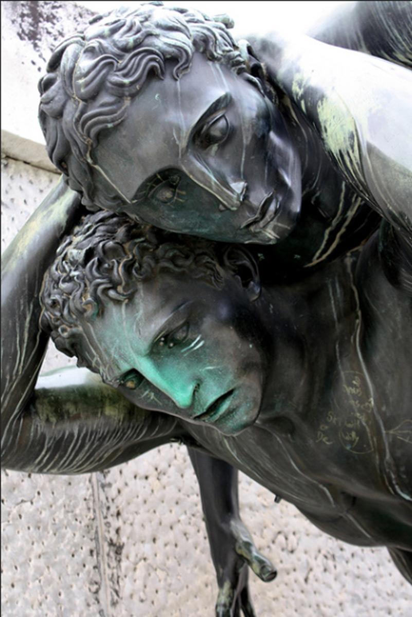 statue del foro italico di aroldo bellini fuse dalla fonderia artistica ferdinando marinelli di firenze